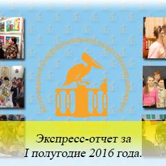 Экспресс-отчет за I полугодие 2016 года